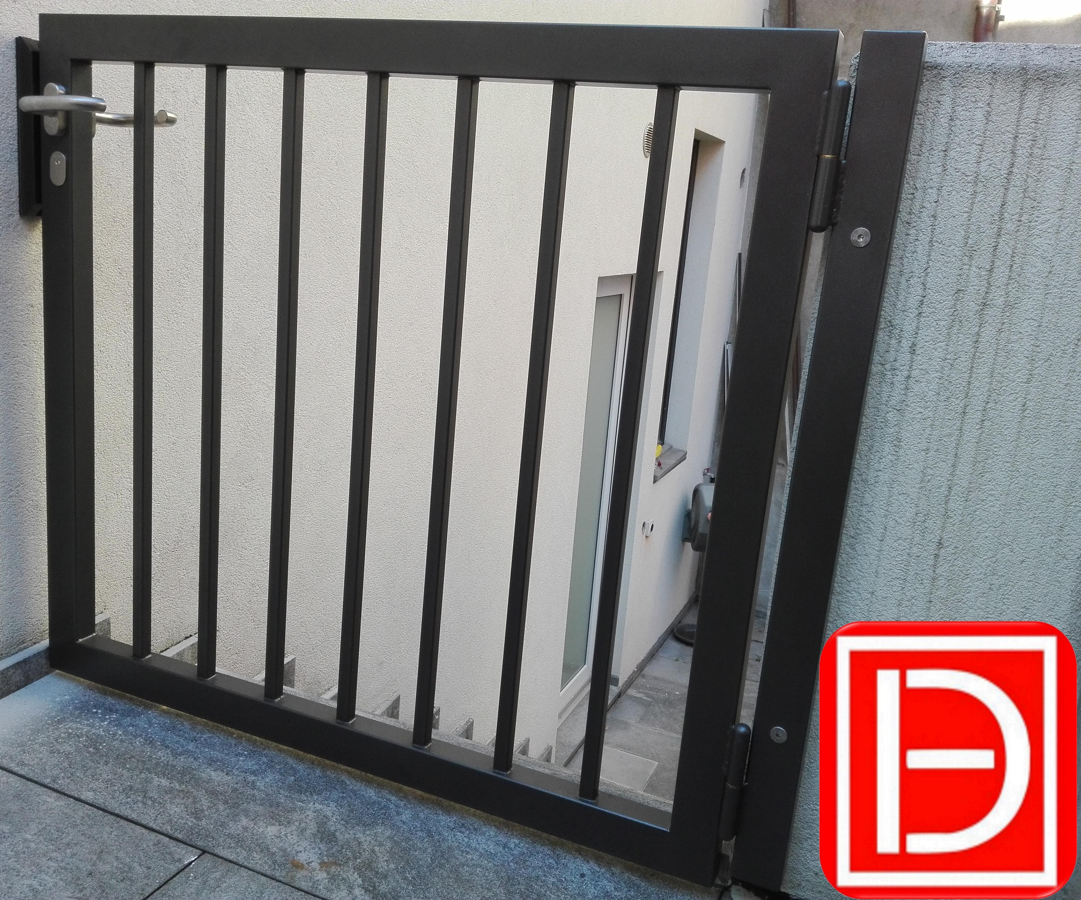 deltametal cancello pedonale