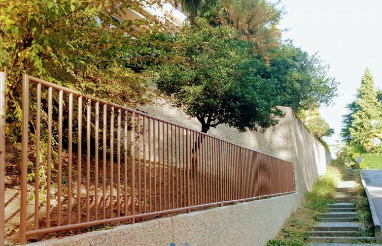 #detlametal #deltametalswiss #ringhiera #giardino #recinzione #metallo